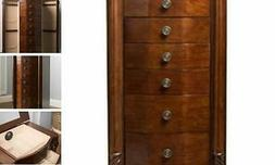 """Hives and Honey Henry IV Jewelry Armoire, 39.75"""" H x 17.25"""""""