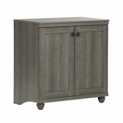 South Shore 10323 Small 2-Door Storage Cabinet with Adjustab