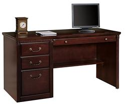 Martin Furniture Contemporary Office Double Pedestal Executi