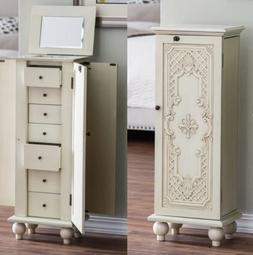 Jewelry Armoire Clearance Women Armoires Box Womens Lock Cab