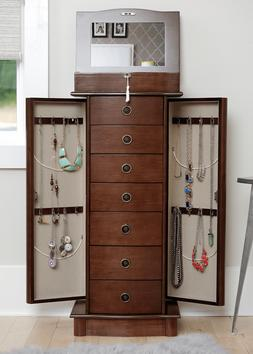 JEWELRY - HIVES & HONEY NORA JEWELRY ARMOIRE - LOCKING TOP -