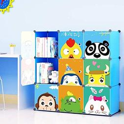 MAGINELS Kids' Toy Storage Cube Organizer for Children Bookc