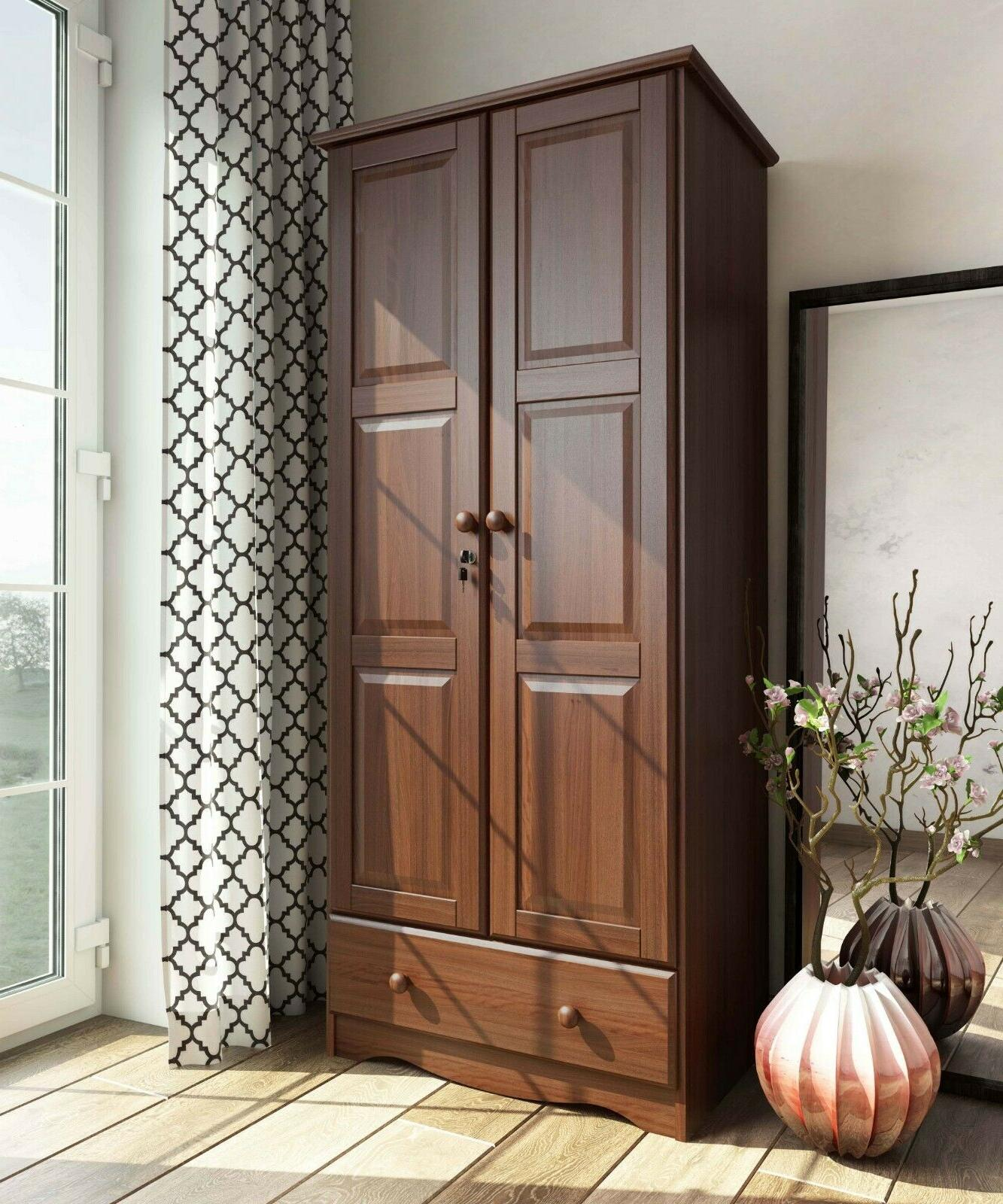 100 Solid Wood Flexible Wardrobe Armoire Closet By Palace Imports 3 Colors