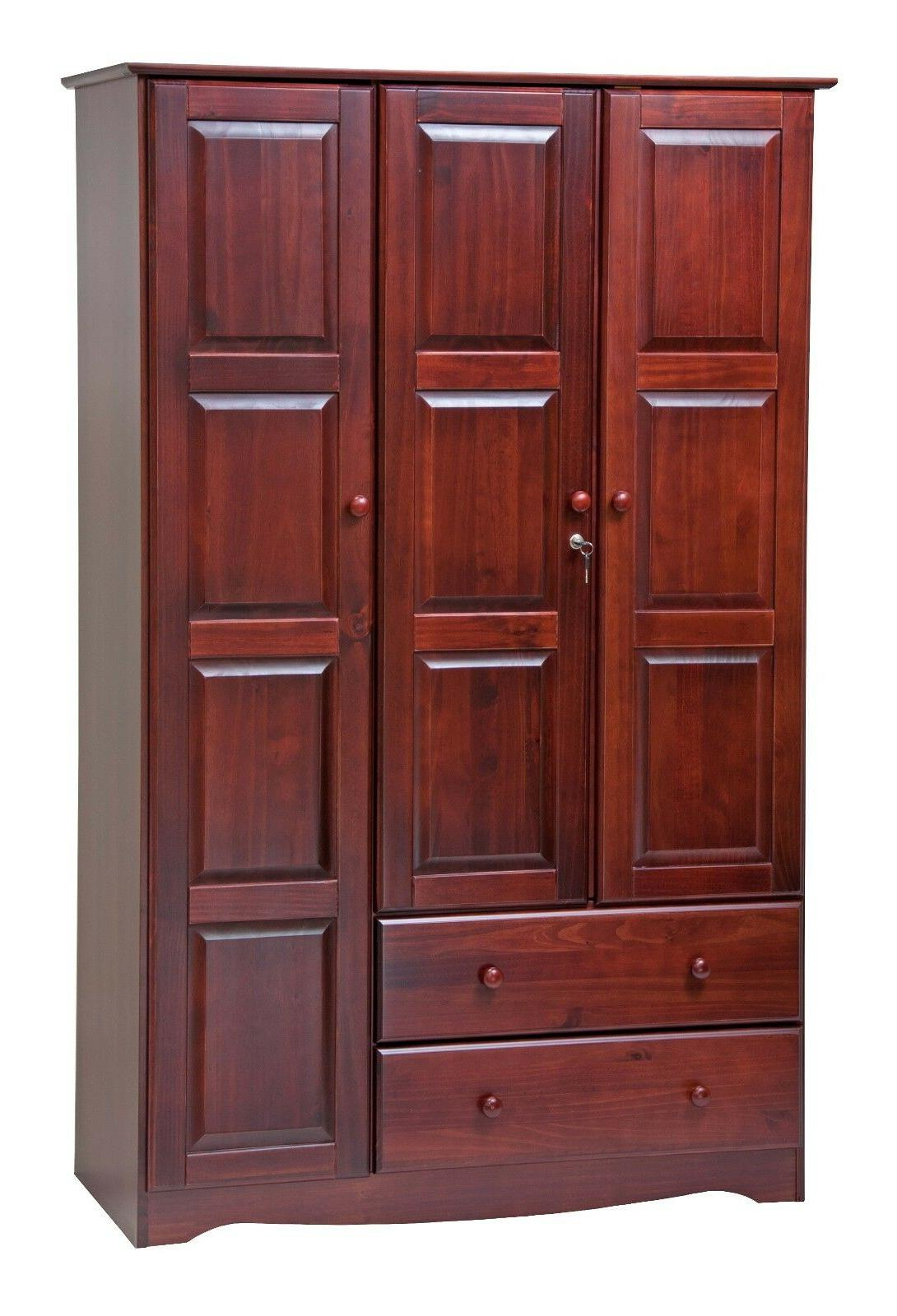 100% Solid Wood Wardrobe/Armoire/Closet by Palace 5