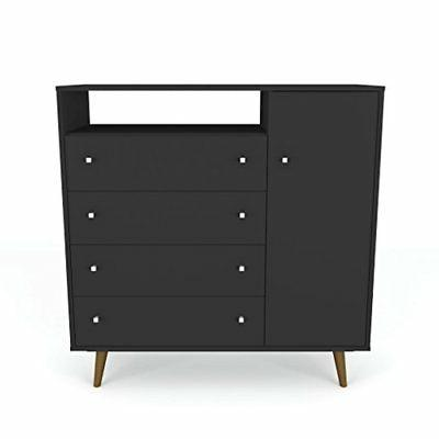 210bmc8 liberty modern bed black