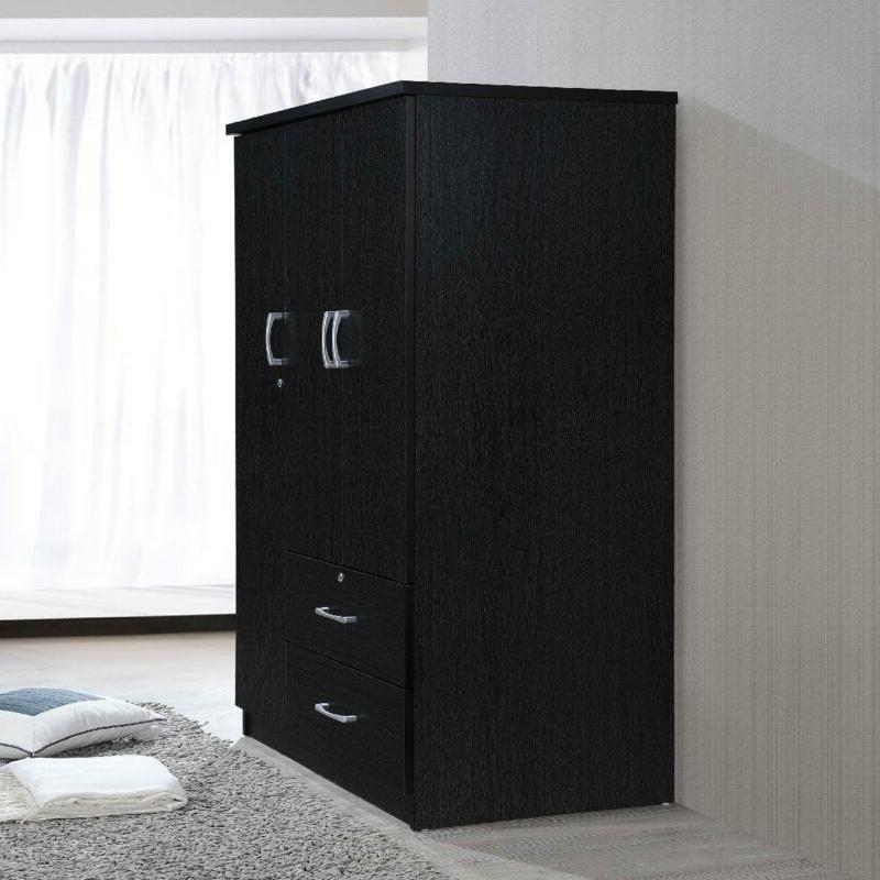 Armoire With Drawers, Finish