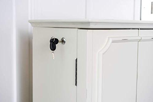 Hives and Honey Charlize Fully Armoire, White
