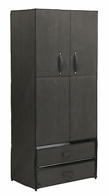 Fox Valley Traders Clothing Wardrobe with Magnetic Doors XL