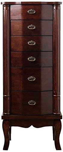 "Hives and Honey 1004-474""Abigail Jewelry Armoire, 36.625"" x"