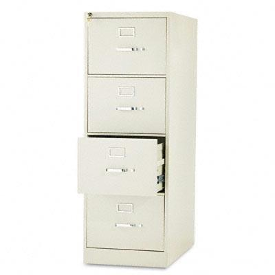 """Hon Four-Drawer 26-1/2D """"Product Office Furniture/File Cabinets"""""""