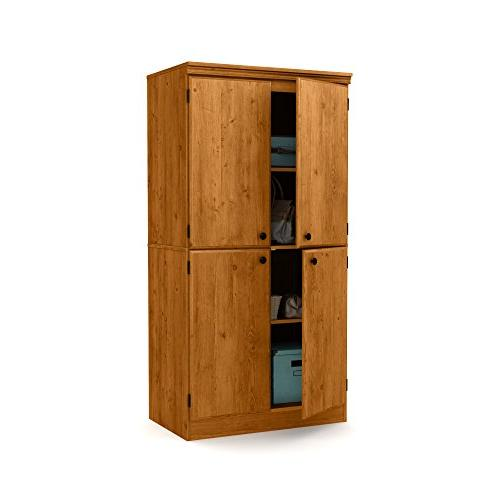 South Tall Storage Cabinet Shelves,