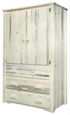 Armoire and Wardrobe with Drawers