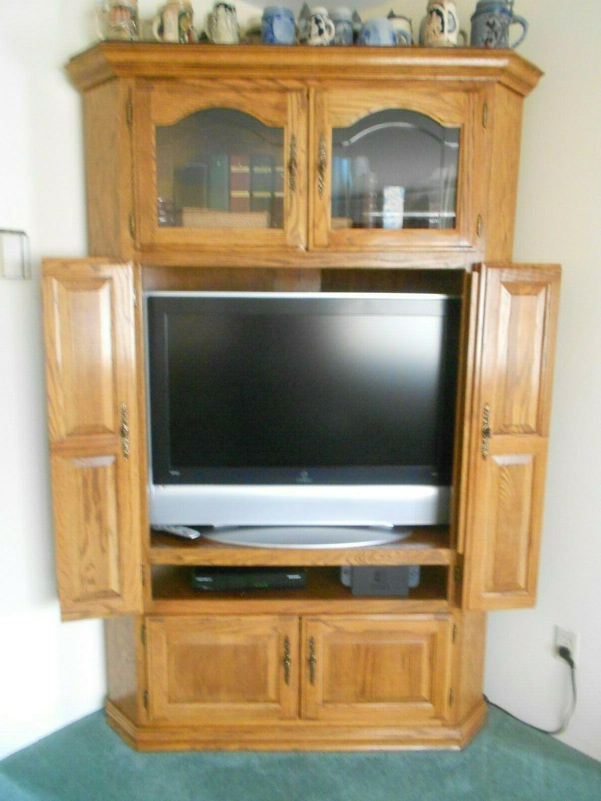 Armoire TV - Oak Pick Up Only