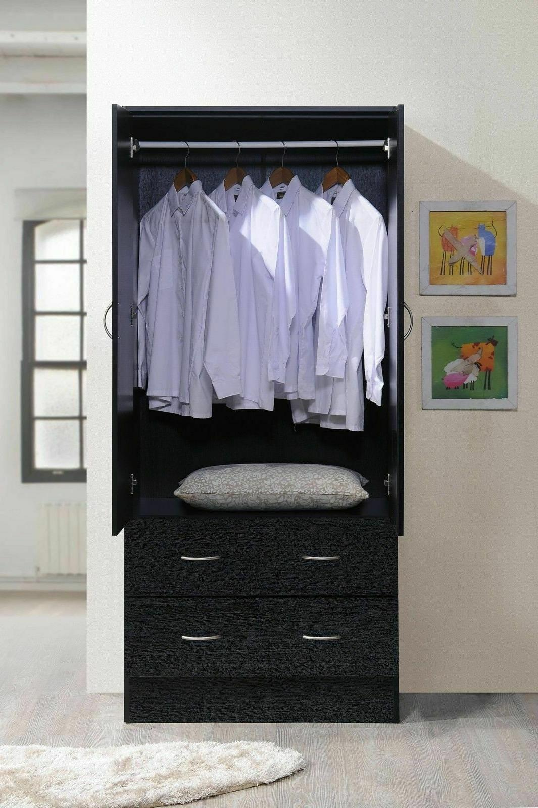 Armoire Wardrobe Clothes Cabinet Wood