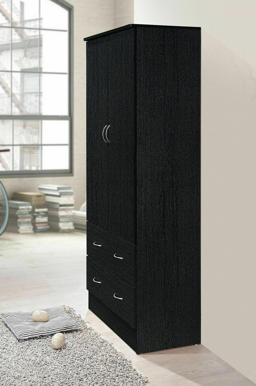 Armoire Closet Bedroom Clothes Wood