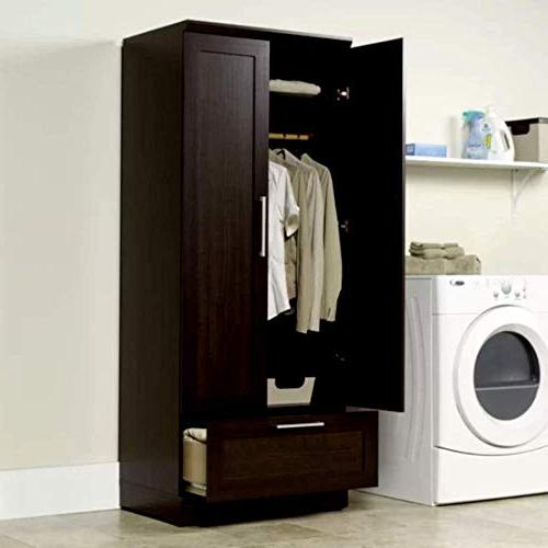 armoire wardrobe closet tall narrow