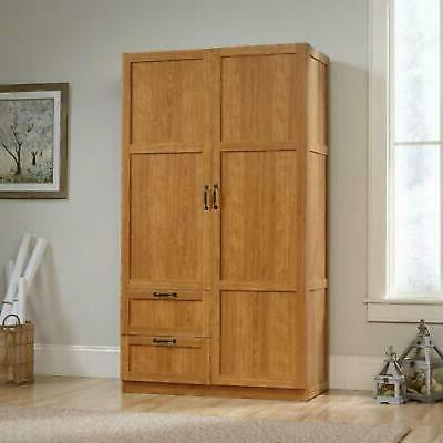Armoire Wooden Wardrobe Cabinet in Finish