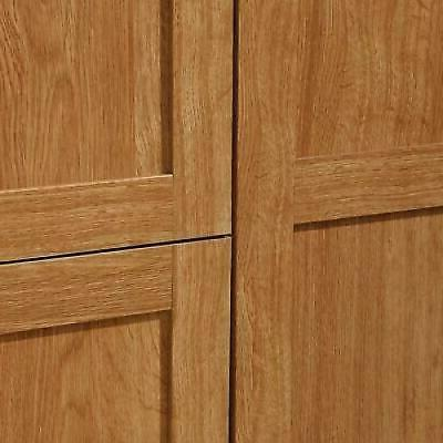 Armoire Wardrobe Cabinet Closet Drawer Organizer in Oak