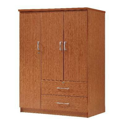 Bedroom Armoire Storage 2-Drawers Closet