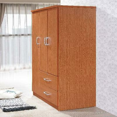 Bedroom Storage 2-Drawers Wood Home