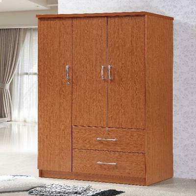 bedroom armoire 3 door wardrobe storage 2