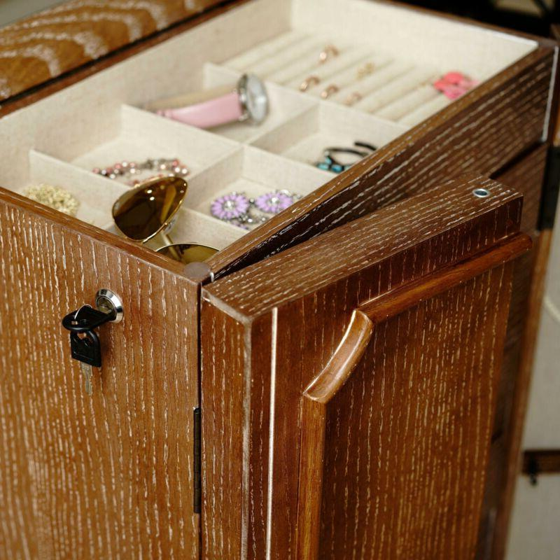 Hives Honey Fully Locking Armoire - Ceruse