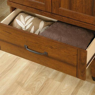 Sauder Forge Wood with Drawer