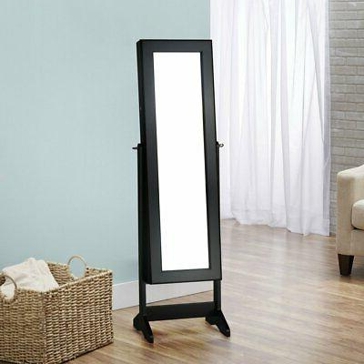 cheval free standing jewelry armoire