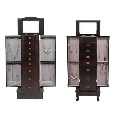 durable jewelry cabinet armoire box storage chest