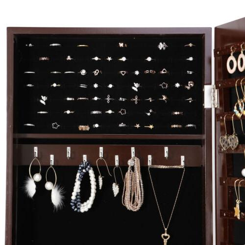 Free Mirror Jewelry Storage Organizer