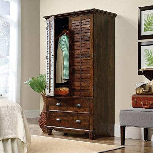 Sauder Armoire, for to Curado Cherry Finish
