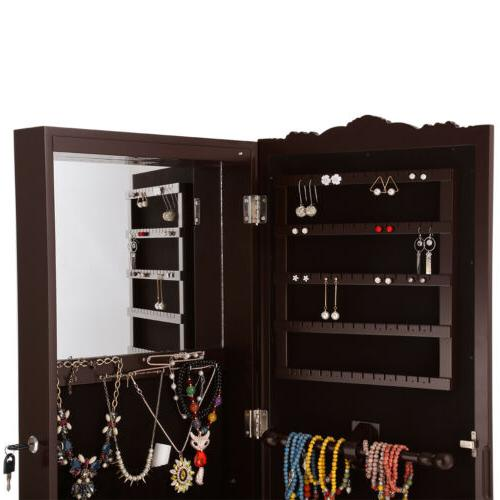 Home Standing Cabinet Armoire W/ +Mirror