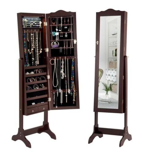 Home Jewelry Cabinet Armoire 2