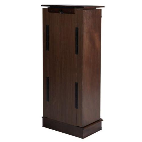 Home Jewelry Cabinet Armoire Stand Organizer