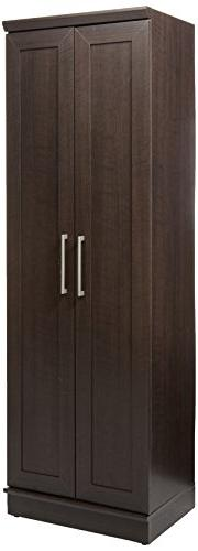 "Sauder Homeplus Storage L: 23.307"" x 17.008"" H: Dakota Oak"