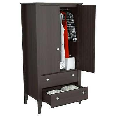 Inval Modern Two-Door Armoire