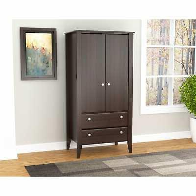 Inval Modern Two-Door Storage Armoire
