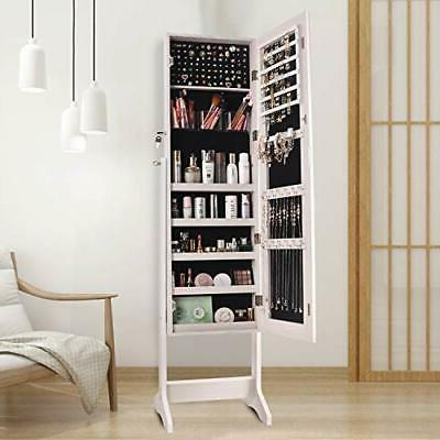 Jewelry Cabinet Large Frameless Free S