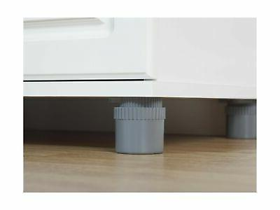 SystemBuild Kendall Storage Cabinet inch White