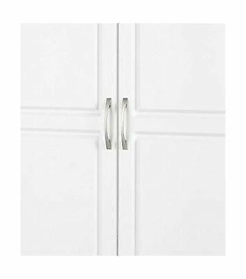 SystemBuild Kendall Cabinet Adjustable inch White