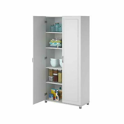 Cabinet Adjustable inch White