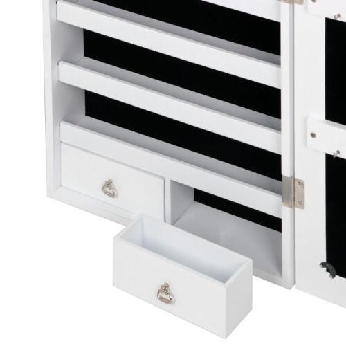 Large Jewelry Lockable Wall Drawers