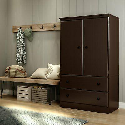 South Shore 2 Door Armoire