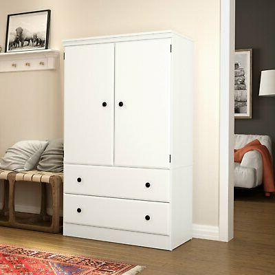 South Shore Door Armoire with