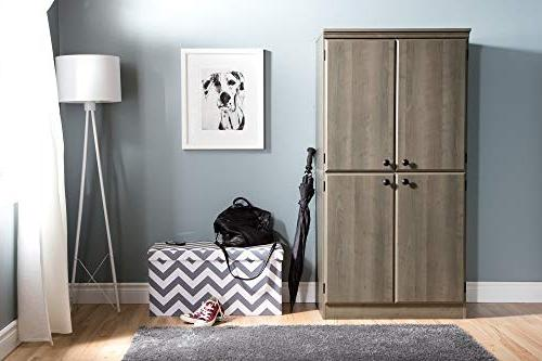 South Storage Shelves,