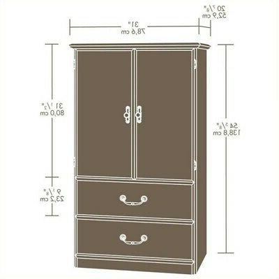 Sauder Orchard Hills Armoire in