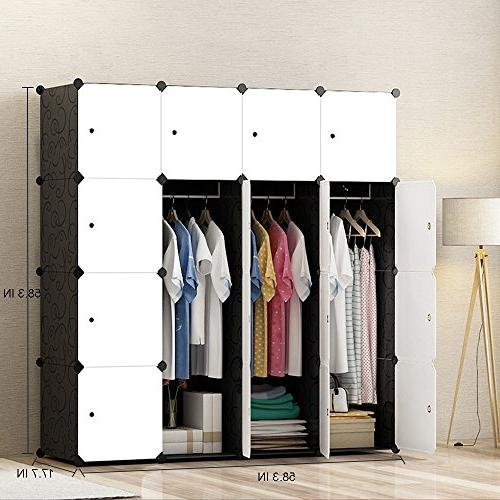 MEGAFUTURE Modern for Clothes, Armoire, for Space Organizer