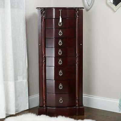 Hives And Honey Robyn Cherry Jewelry Armoire Rich Antique Ch