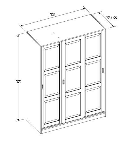 Door Wardrobe/Armoire/Closet Imports, 1 1 Clothing Rod Additional Full Sold Separately. Assembly