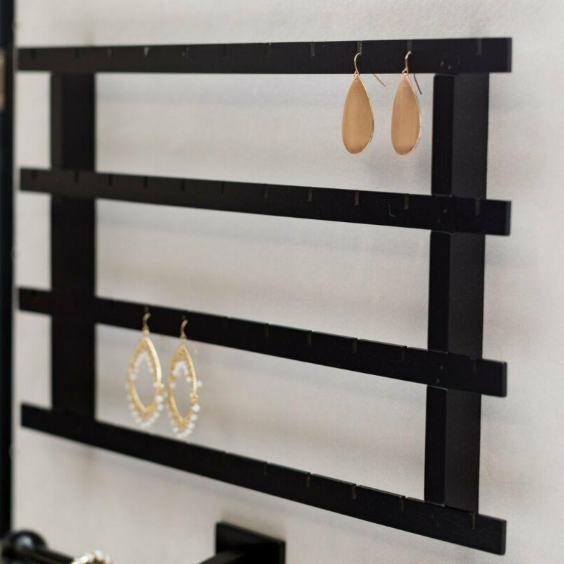 Mainstays Square Border Wall Mounted Armoire - Black